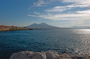 Naples - golfe - Vésuve