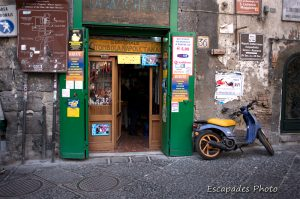 Naples typique : magasin traditionnel