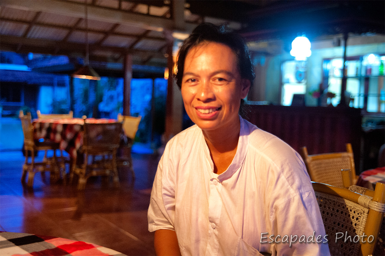 Bali, témoignage et portrait de femme