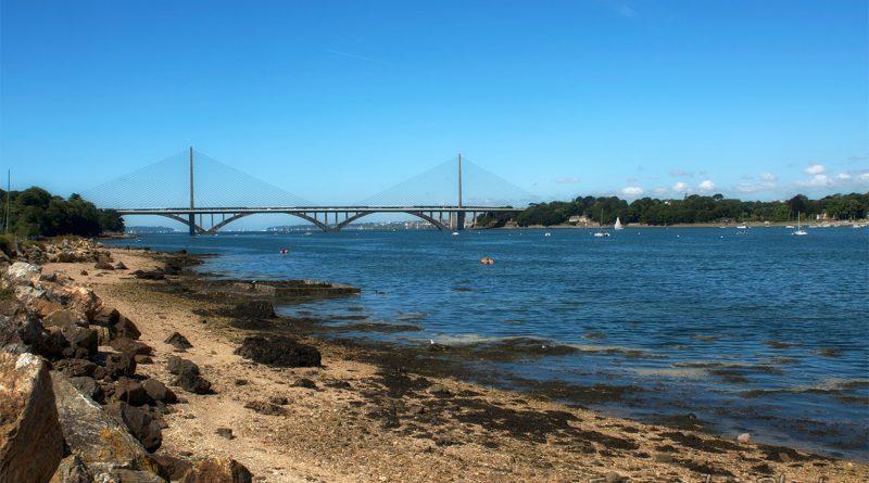Pont de l'Iroise - Le passage - Plougastel Daoulas