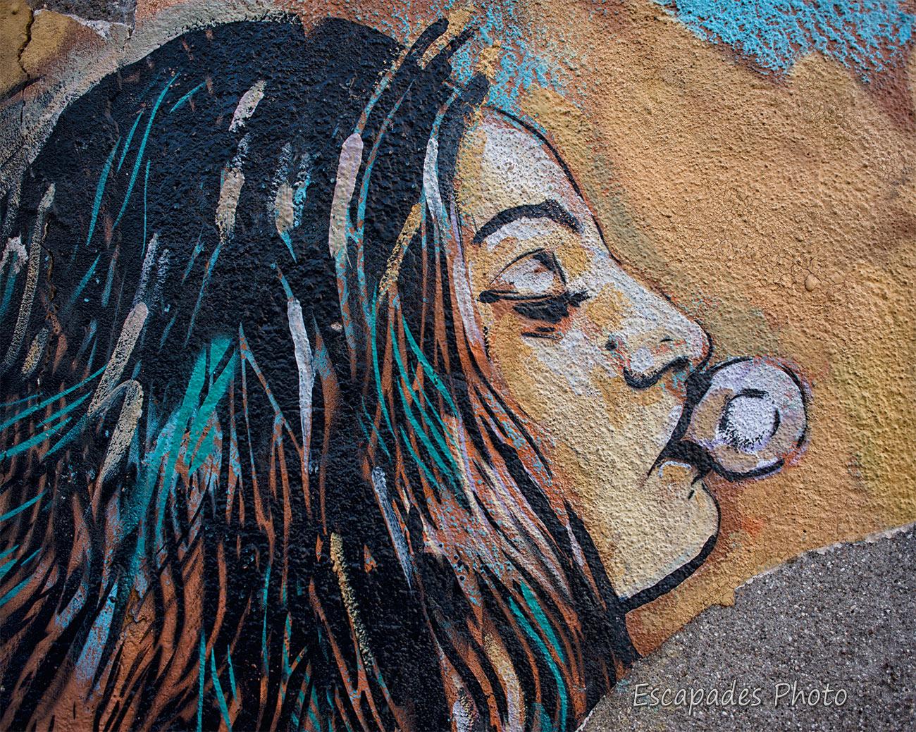 AliCè femme à la bulle - Vitry sur Seine