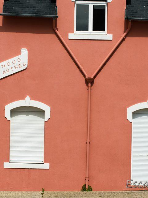 Poulgoazec - la maison rose