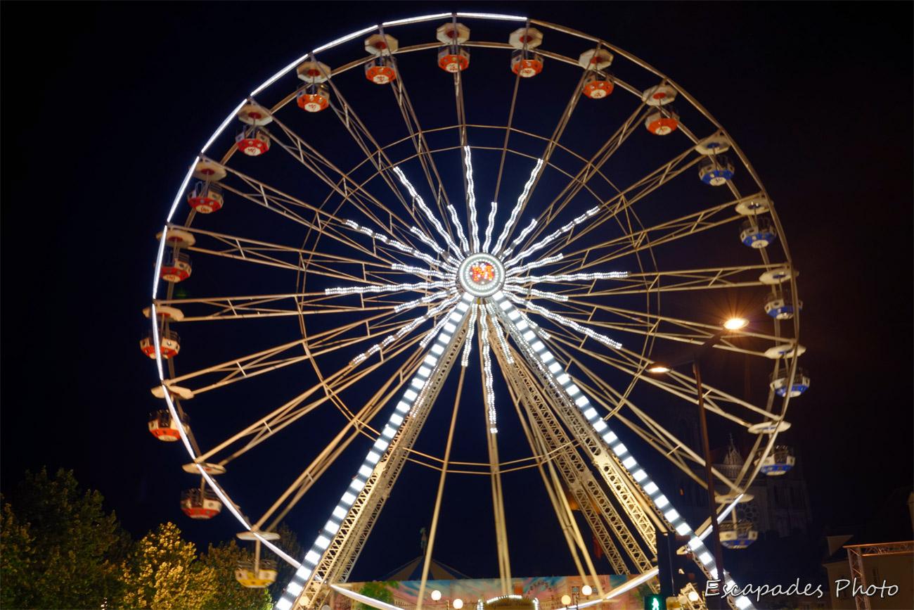 La grande roue - Chartres en lumière