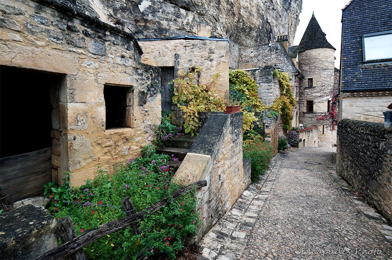 La Roque Cageac - Le manoir à la tour ronde