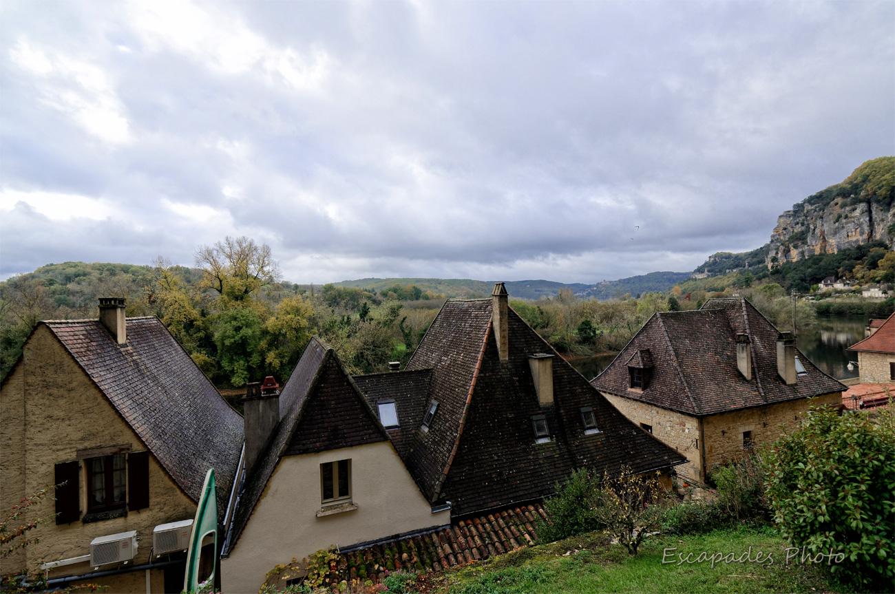 Les toitures de La Roque Cageac