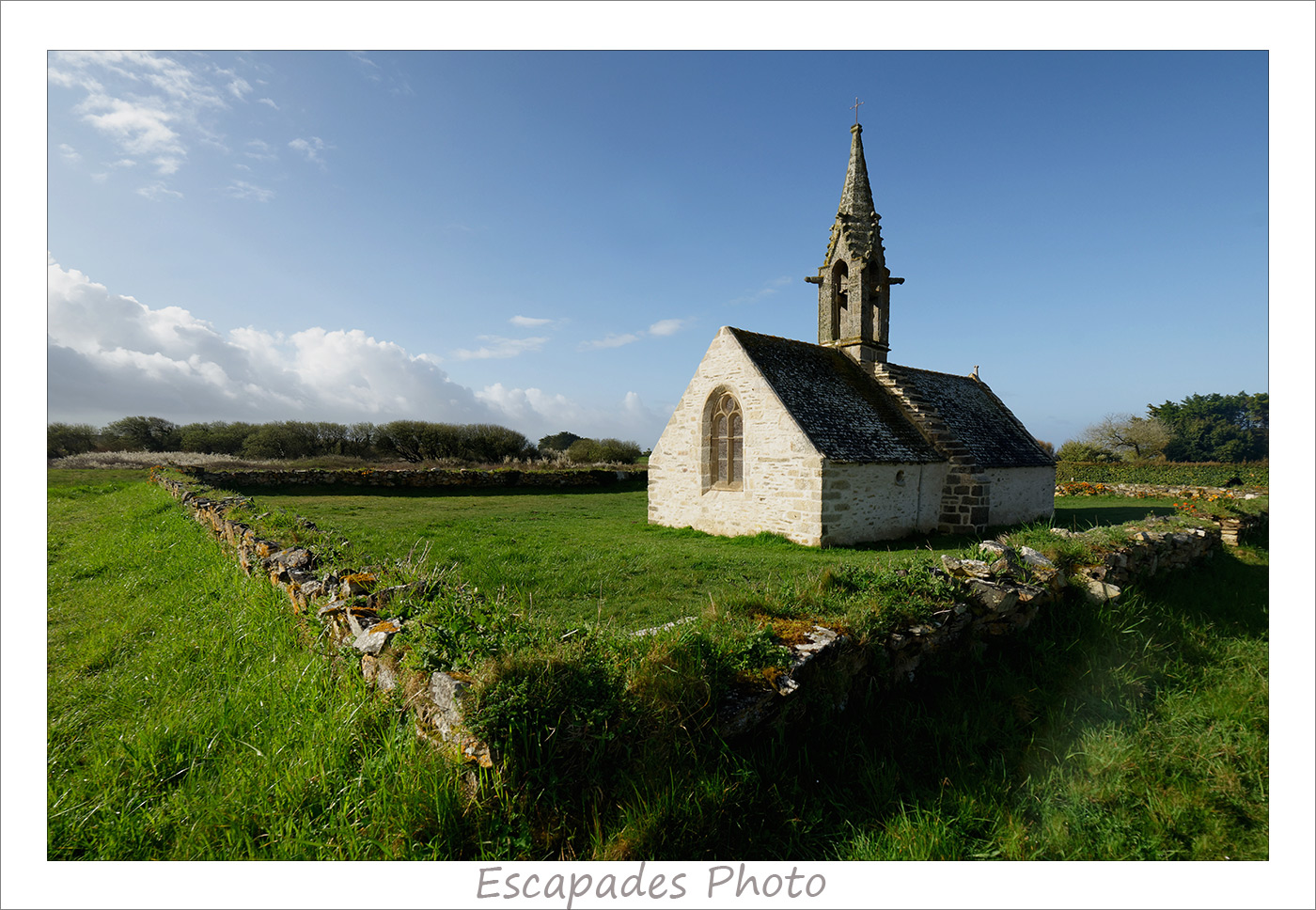 Chapelle Saint-Vio : L'enclos