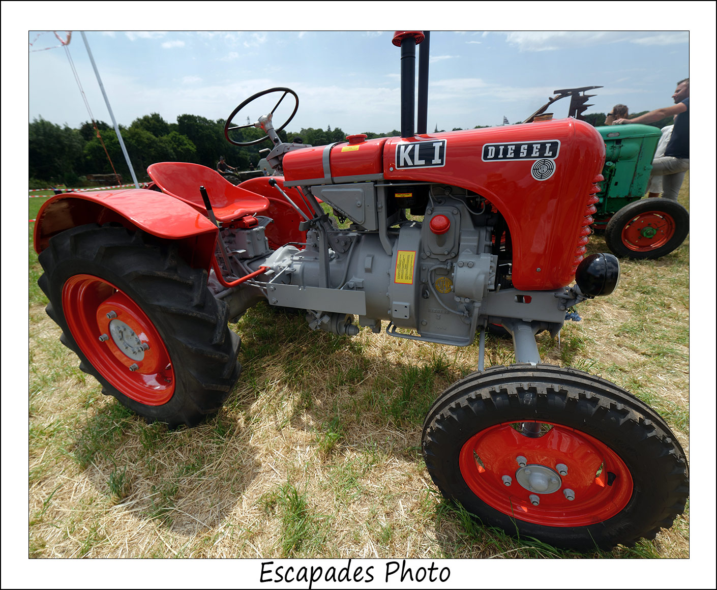 STEYR type 80 - tracteur restauration de carrossier - KAR TANN Rédéné