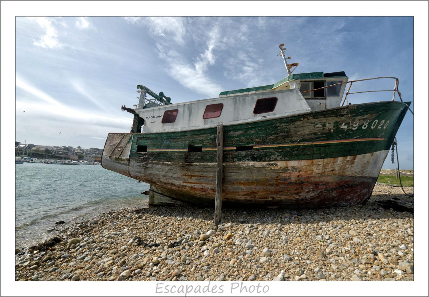 Magellan - Cimetière de bateaux de Camaret