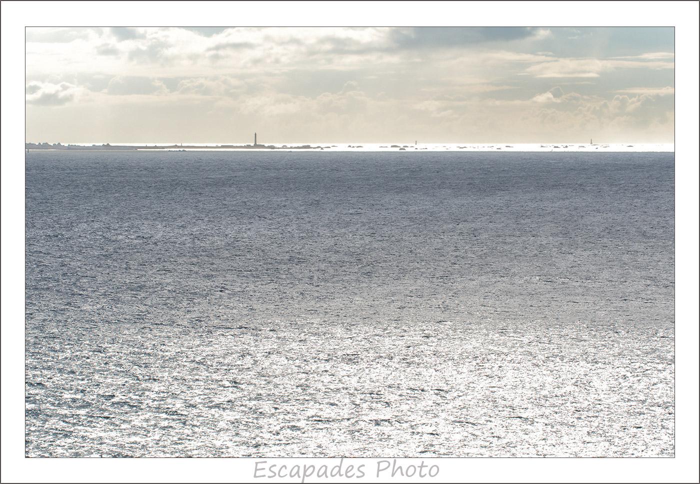 île de Sein vu de la Pointe du Van