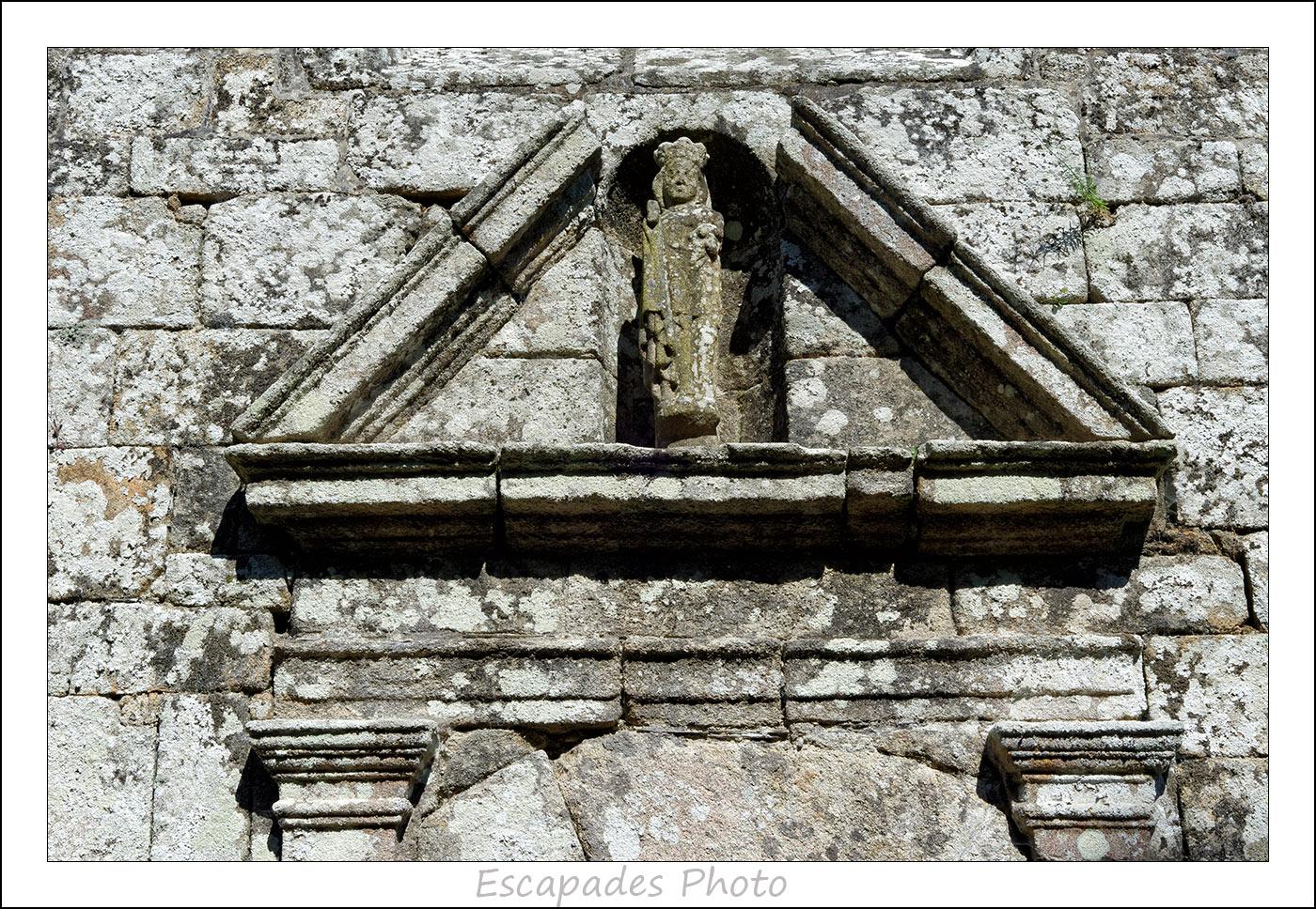 Vierge - chapelle de la Trinité Lanvénégen