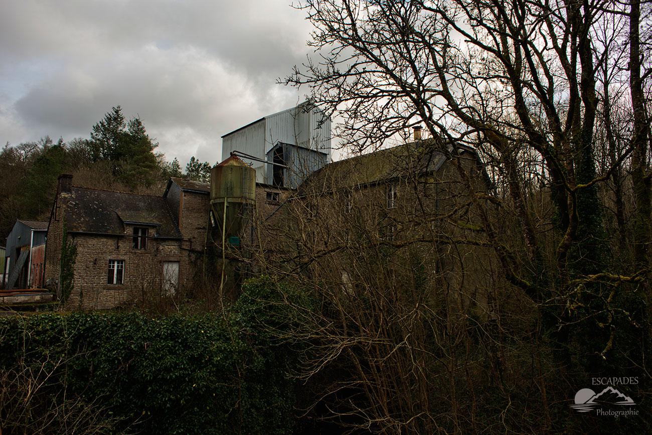 Moulin désaffecté de la Rochepiriou